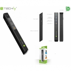 Prezenter bezprzewodowy Techly ze wskaźnikiem laserowym