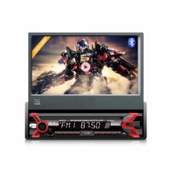 "Radioodtwarzacz Audiocore AC9100 LCD 7"" wysuwany dotykowy panel 1080P MP5 AVI DivX Bluetooth handsfree RDS + pilot"
