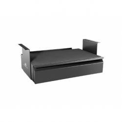 Szuflada ergonomiczna podbiurkowa Maclean MC-875 max 5kg czarna organizer
