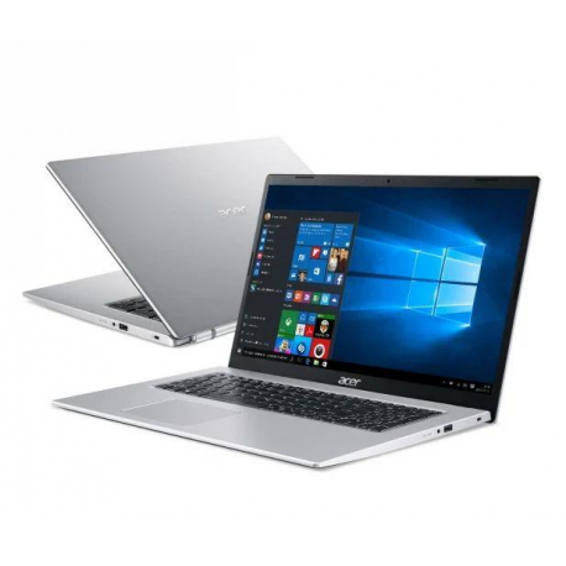 """Notebook Acer Aspire 3 17,3""""FHD /N4500/4GB/SSD256GB/UHD/W10 Silver"""