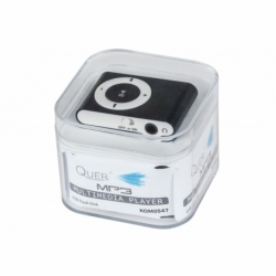 Odtwarzacz MP3 Quer KOM0547 czarny