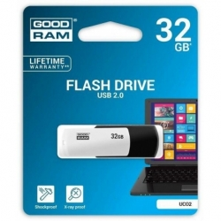 Pendrive GOODRAM COLOUR 32GB USB 2.0 Retail BlackandWhite