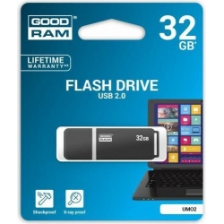 Pendrive GOODRAM 32GB UMO2 USB 2.0 Graphite