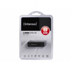 Pendrive Intenso 8GB ALU LINE ANTHRACITE USB 2.0