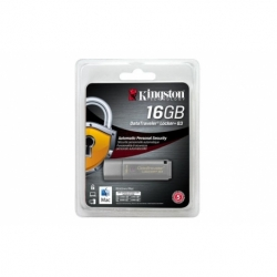 Pendrive Kingston DataTraveler Locker+ G3 16GB USB 3.0, AES 256-bit