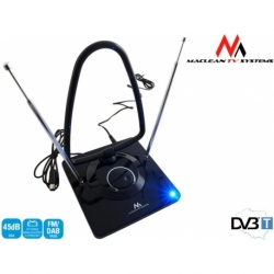 Antena TV DVB-T Maclean MCTV-963 radio DVB-T pokojowa radio FM