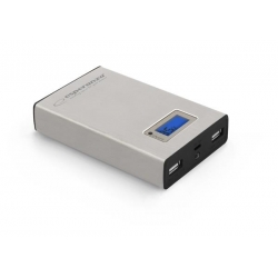 Powerbank Esperanza Kinetic 8400mAh srebrny