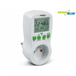 Timer cyfrowy GreenBlue GB107 16 programów max 240 programów