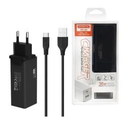 Samochód zdalnie sterowany RC UGO Scorpio czarno-czerwony