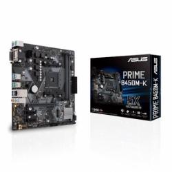Płyta Asus PRIME B450M-K/AMD B450/SATA3/M.2/USB3.1/PCIe3.0/AM4/mATX