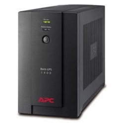 Zasilacz awaryjny UPS APC BX1400U-GR BACK-UPS 1400VA, 230V, AVR, gniazda Schuko