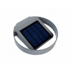 Lampa solarna GreenBlue GB130 ścienna okrągła LED 3W