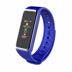 Smartwatch MyKronoz ZeFit3 monitor aktywności nieb./srebrny
