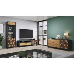 Smartwatch NanoRS RS100 z bluetooth i pulsometrem, czarny